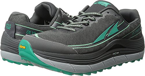 2 Ladies Running Shoes (Altra Women's Olympus 2 Trail Running Shoe, Silver/Green, 8.5 M US)