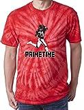 "The Silo TIE DIE RED Atlanta Deion ""Prime Time"" T-Shirt"