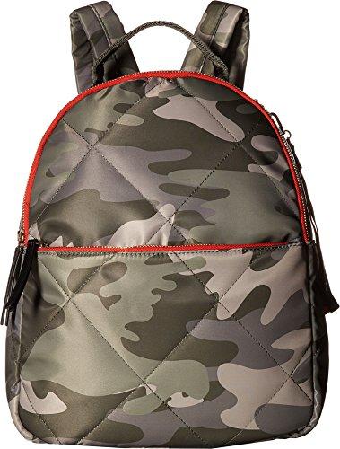 (Tommy Hilfiger Women's Kensington Camo Nylon Backpack Green One Size)