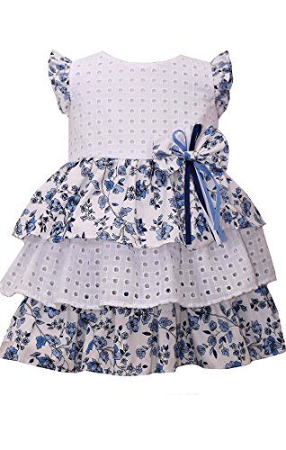 ite Eyelet Tiered Dress 6 ()