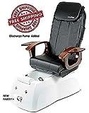 Shiatsulogic Pedicure Spa VIGGO 5103 WHT NO PUMP Pedicure Chair