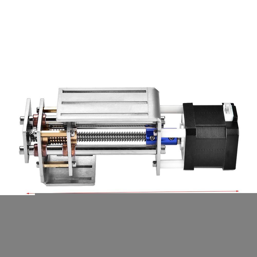 Deslizador de Riel Lineal CNC deslizamiento de ejes Z de Acero Inoxidable deslizador 60 mm Fresado Bricolaje Riel de Guía de Movimiento Lineal de Guía de Movimiento: Amazon.es: Industria, empresas y ciencia