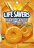 LifeSavers Butter Rum Hard Candy, 6.25-Ounce Bags, (Pack of 12)