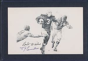 Tony Canadeo Signed Postcard Signed Auto - PSA/DNA Certified Ad70712