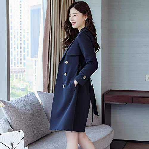 Wind Jackets Long Navy nbsp;Female Jacket SCOATWWH The blue Suits Load Coats Women'S For Windbreaker amp; Autumn O8OEwR6x