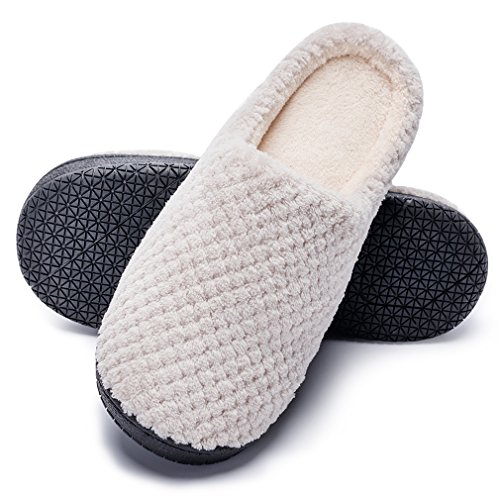 Bubble Caramella Sole Non Slip Foam Womens Indoor Rubber House Plush Beige Memory Coral Gridding Shoes Outdoor Lining Slippers Skid Arch Slippers amp; Anti Soft dqrqxPH