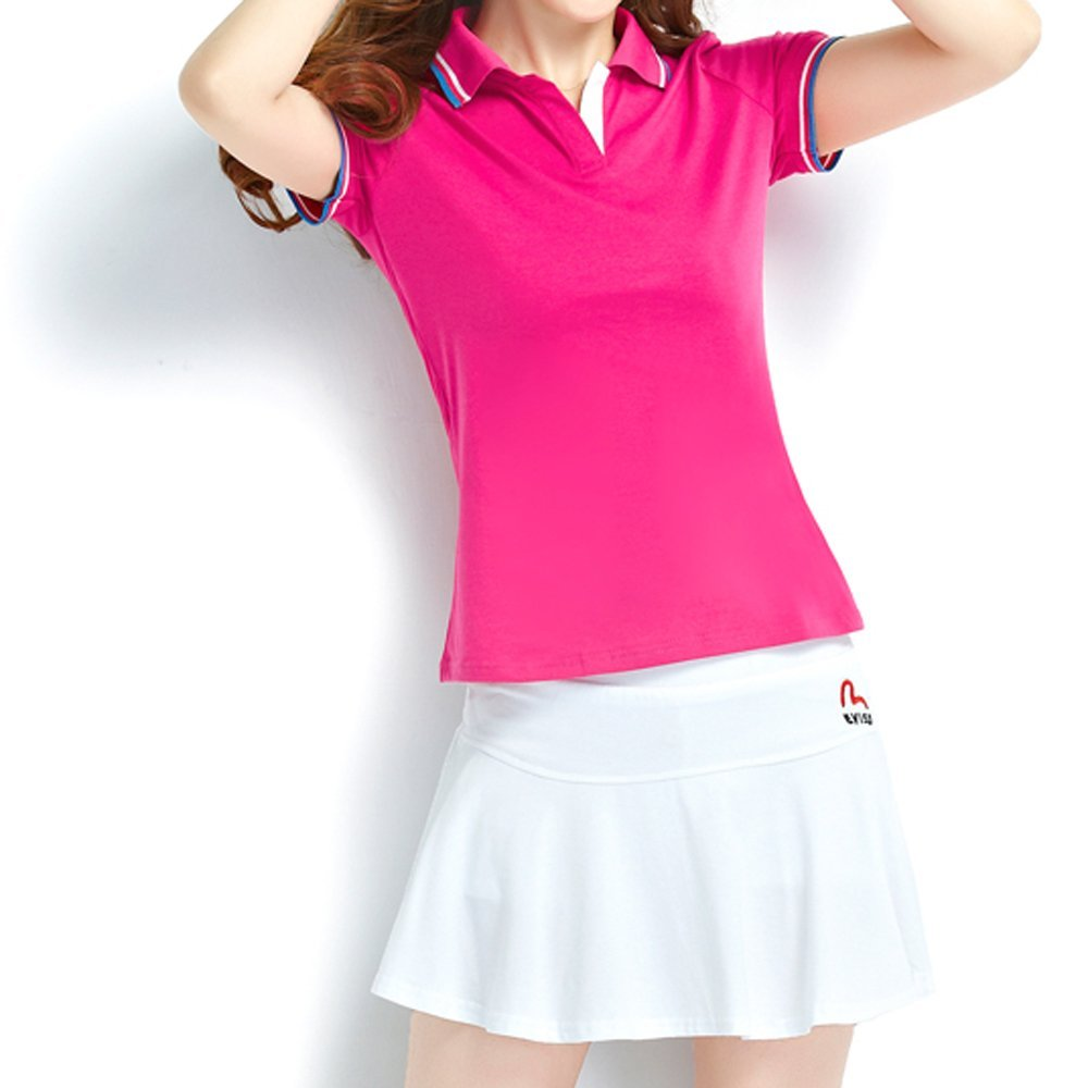 wgyesh Moda Mujer Ropa manga corta falda de tenis de bola, color ...