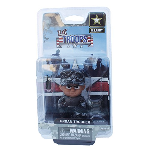 Review Lil' Troops 3″ Military