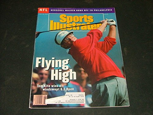 Sports Illustrated June 29 '92 Flying High Tom Kite