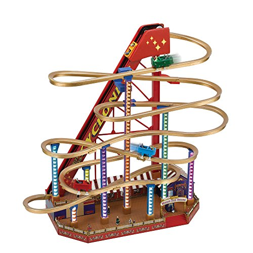 Mr. Christmas Animated Musical World's Fair Grand Roller Coaster by Mr. Christmas