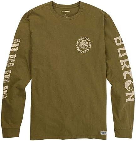 Burton Cerrados LS - Camiseta para hombre, color verde oliva, Oliva Martini, M: Amazon.es: Deportes y aire libre