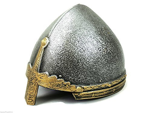 Knightware Viking or Knight Helmet for Kids. Norman Nasal Helmet. Costume Accessory ()