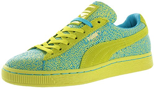 UK Puma Blue Women's Shoes Sulphur Court Solange Sizes Suede Spring Trainers X rqUAw0qBg