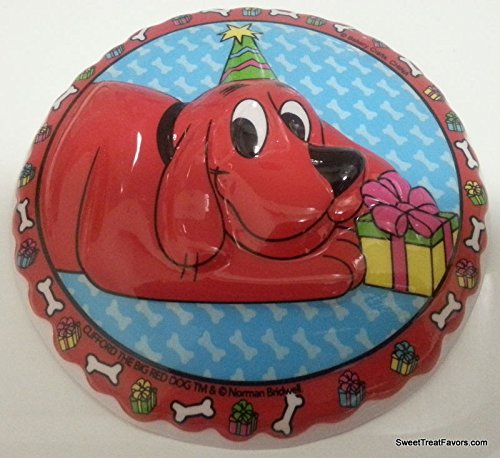 Clifford The Big Red Dog Cake Decoration Plac Cupcake Favors