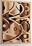 Rug Tycoon E514Berber4by6REC Area, 4'0″ x6'0 Rectangular For Sale