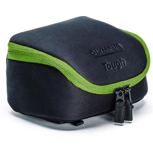 Olympus Tough System Bag for Cameras - Black with Green Trim (Olympus E-system Cameras)