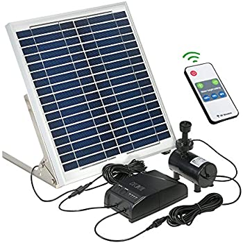 Amazon Com Fesjoy 15w Solar Brushless Dc Water Pump