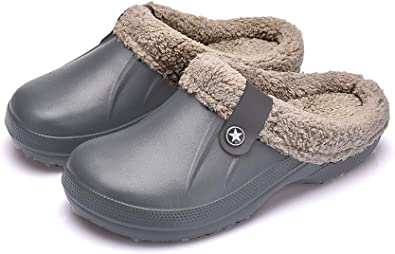 TongYing - Zuecos de jardín para hombres, zuecos de jardín para mujeres, zuecos de jardín de Navidad, zapatillas de hombre al aire libre, para mujer: Amazon.es: Zapatos y complementos