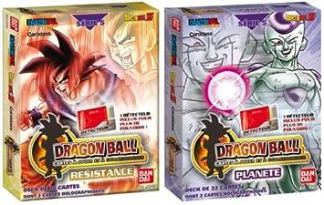 Bandai - Tarjetas de parte - Dragon Ball Z - Starter Serie 5 ...