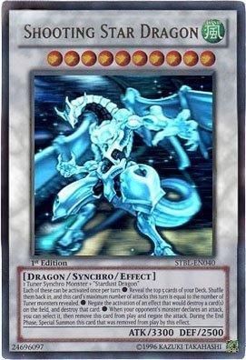 (Yu-Gi-Oh! - Shooting Star Dragon (STBL-EN040) - Starstrike Blast - 1st Edition - Ghost Rare)