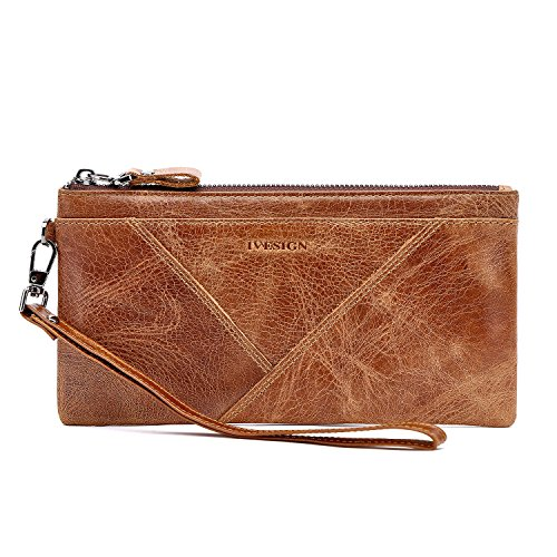 Womens Leather Wristlet - 8
