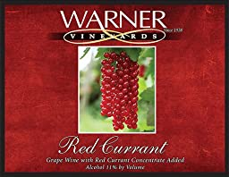 2012 Warner Vineyards Red Currant Wine 750 mL
