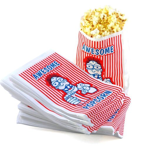 Great Northern Popcorn Case of 100 32 Oz. Movie Theater Popcorn Bag (2oz Popcorn Machine compare prices)