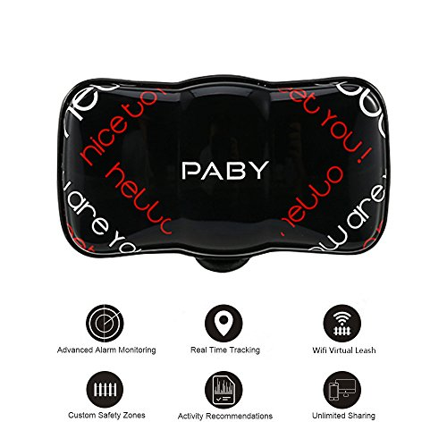 PABY Pet Tracker, 3G GPS Pet Tracker & Activity Monitor Dogs Cats Smart WIFI Virtual Fence Rechargeable Waterproof Tracker Pet Safe Wireless Fence Pet Finder Android/iPhone by PABY (Image #10)