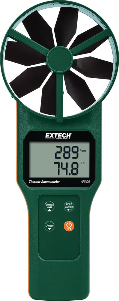 Extech AN300 Large Vane Thermo Anemometer FLIR SYSTEMS INC.