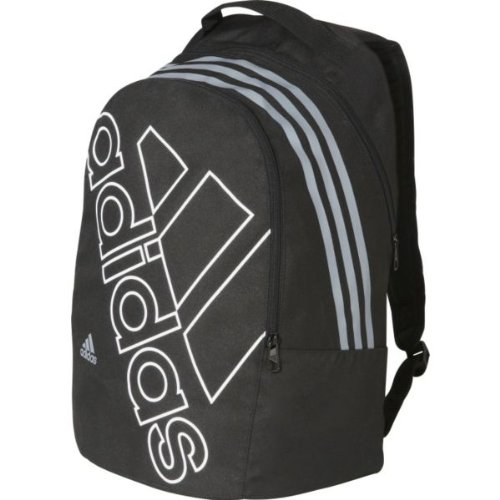 Precious Adidas SMU Logo Backpack - Black and Grey with accompanying  Foldable Drinks Bottle  Amazon.co.uk  Sports   Outdoors ff68945f60246