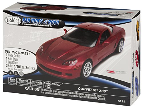 Testors Rides Road Corvette Model product image