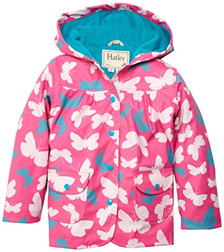 Hatley Girls Classic Printed Raincoat