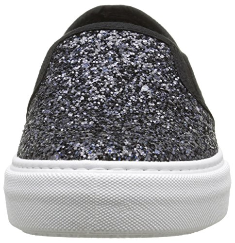 Slip 10 Adulte Mixte Victoria Noir Negro Basses Glitter On Baskets Ox6wZ1Cq