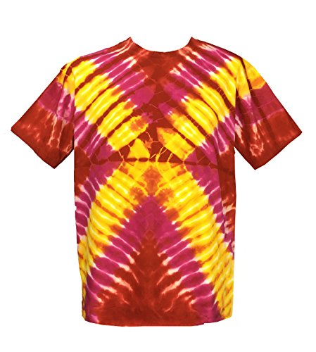 pink and yellow tie dye - 8