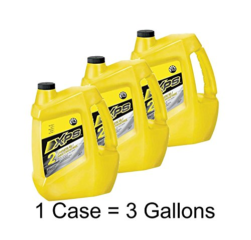 Sea-Doo PWC XPS 2-Stroke Synthetic Oil - Case of 3 Gallons 293600133 by Sea-Doo