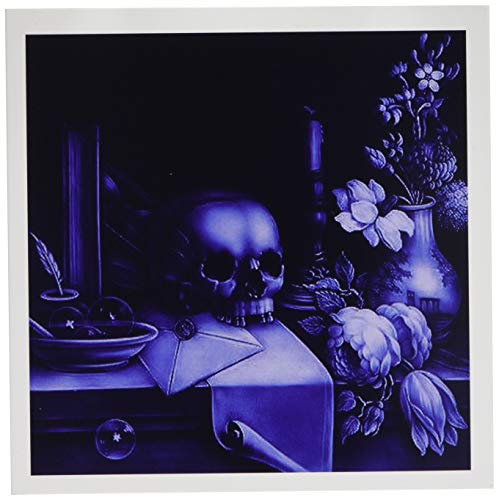 Halloween Skulls - Greeting Cards, 6 x 6 inches, set of 12 (gc_18237_2) -