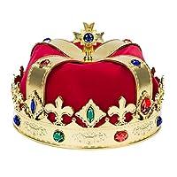 Canguro real rey corona rojo y oro