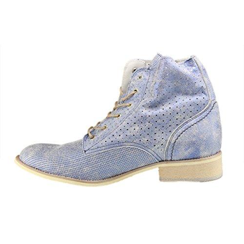 Mustang 2856502 - Botas Mujer Azul