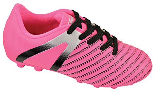 Vizari Baby Impact FG Soccer Shoe, Pink/Silver, 8 Regular US Toddler ()