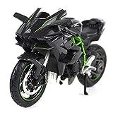 1:12 Kawasaki H2R Die Casting Model Motorcycle Racing Miniature Metal Collection Toy Boy Gift Model Simulator