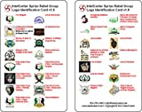 The Syrian Rebel Group Logo Identification Card is a pocket-sized 3x5 inch durable plastic double-sided reference card that contains the primary logos and names of 30 different rebel groups operating in Syria. It is designed to provide those out in t...
