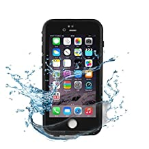 """iPhone 6 Waterproof Case, iTritrust iPhone 6S Waterproof Case with Fully Sealed Design Protective Case Cover IP68 for 4.7"""" iPhone 6 6s"""