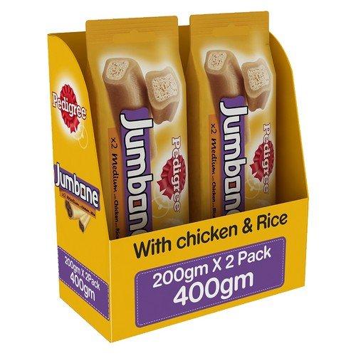 Pedigree Jumbone Adult Dog Treats, Chicken and Rice - 200 g (Pack of 2) (B071GL97KS) Amazon Price History, Amazon Price Tracker
