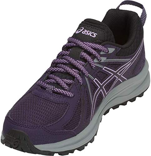 ASICS Frequent Trail Women s Running Shoe, Night Shade Black, 8 B US