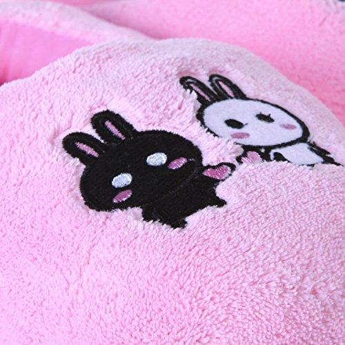 [해외]2016 새로운 안전하고 믿을만한 플러시 USB 발 따뜻하게 신발 부드러운 전기 난방 슬리퍼 귀여운 토끼 핑크 USB 가제트/2016 New Safe and Reliable Plush USB Foot Warmer Shoes Soft Electric Heating Slipper Cute Rabbits Pink USB Gadgets
