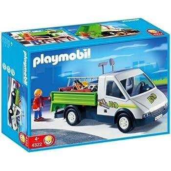 playmobil pick up truck toys games. Black Bedroom Furniture Sets. Home Design Ideas