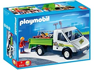 Amazon.com: Playmobil Pick-Up Truck: Toys & Games