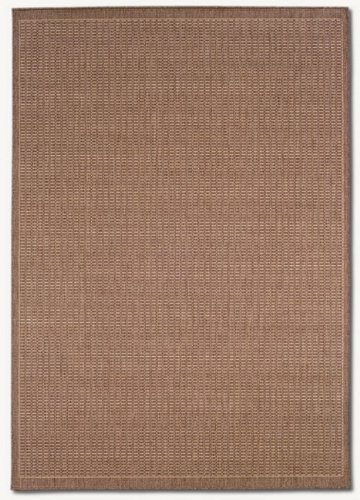 Couristan 1001/1500 Recife Saddle Stitch Runners, 2-Feet 3-Inch by 7-Feet 10-Inch, Cocoa