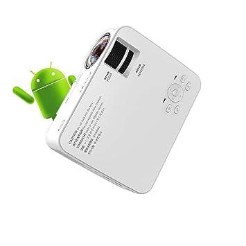 XDBY Proyector For El Hogar Full HD Mini Smart WiFi Portátil ...