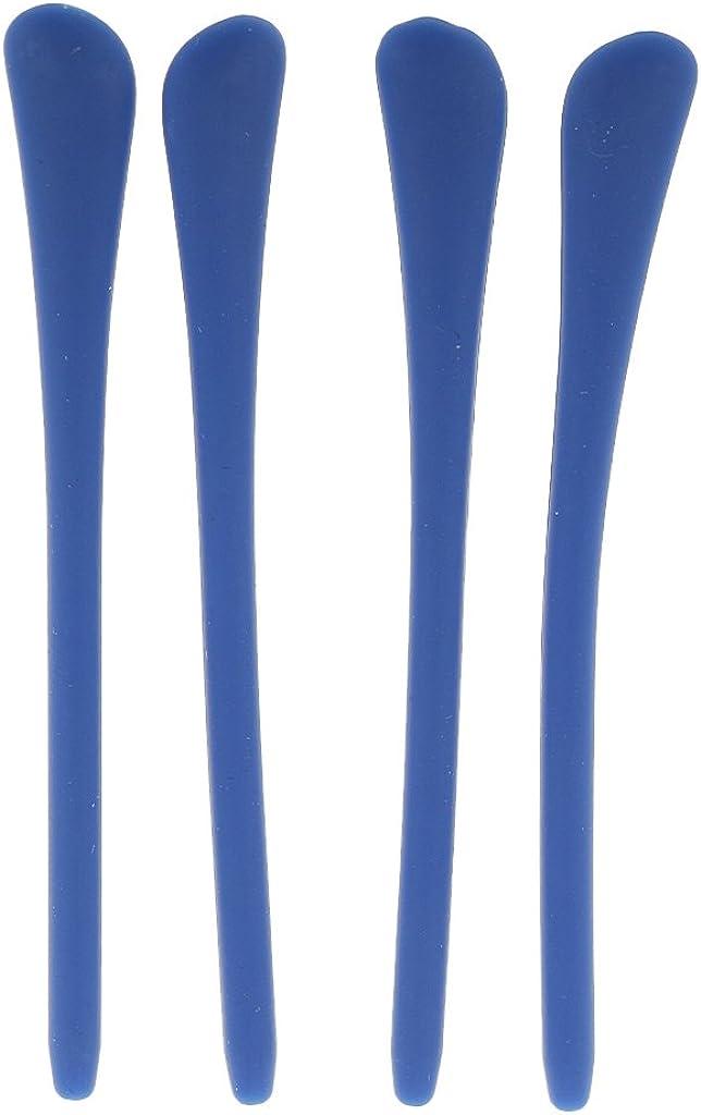 sharprepublic 5 Coppie Di Punte In Silicone Per Occhiali Parti Di Ricambio Per Calzini Per Gambe In Metallo Vari Colori Tra Cui Scegliere